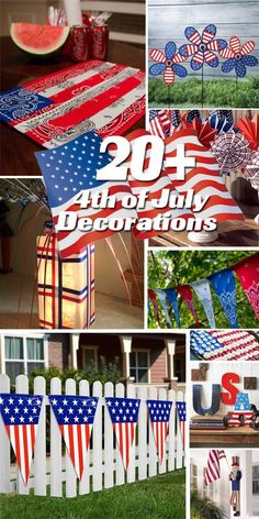 20+ 4th of July Decorations