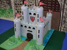 how to build tattershall castle project in school