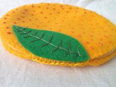 Needle Book Case Holder Hand Stitched Felt от ReflectionsInFelt