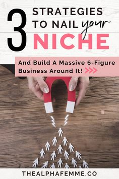 Learn these simple steps on how to find your niche and determine your target audience. Identify your niche and capitalize on it to position your brand as an expert. #businesstips #6figurebusiness #howtobeunique Closing Sales, What Makes You Unique, Passive Income Streams, Finding Yourself, Make It Yourself, Leaving Home, Personal Goals, Target Audience, Affiliate Marketing