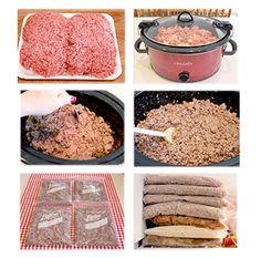 Browning Hamburger In The Crockpot – A Real Timesaver!