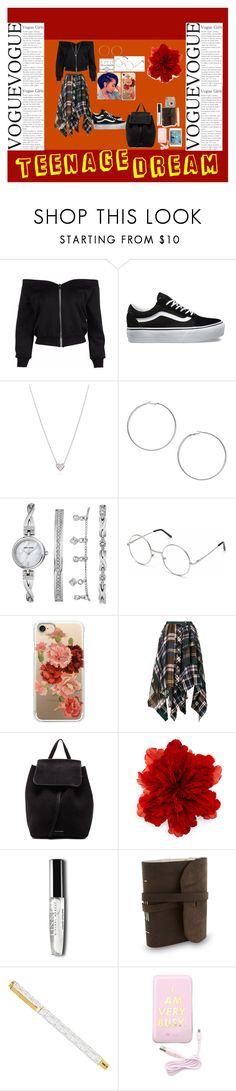 Designer Clothes, Shoes & Bags for Women Teenage Dream, Anne Klein, Miss Selfridge, Casetify, Tiffany, Gucci, Vans, Shoe Bag, Polyvore