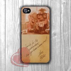 Disney Up Ellie letter quote -dta for iPhone 4/4S/5/5S/5C/6/6+,Samsung S3/S4/S5/S6 Regular/S6 Edge,Samsung Note 3/4