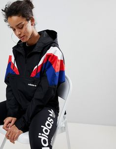Page 2 - Discover adidas Originals for women at ASOS. Shop for NMD trainers and clothing like t-shirts & leggings from adidas Originals. Adidas Originals, Adidas Vintage Jacke, Coats For Women, Jackets For Women, Clothes For Women, Latest Outfits, Fashion Outfits, Fashion Styles, Women's Fashion