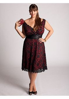 IGIGI by Yuliya Raquel  Leigh Lace Dress in Red    ~Why are the really cute dresses like $180