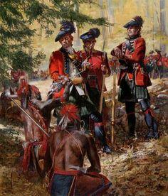 guerra francesa e india