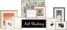 sadie + stella: How to: Art Stacking