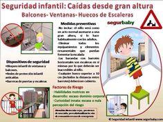 Seguridad infantil para ventanas y balcones