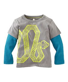 Look what I found on #zulily! Thunder Snake Layered Tee - Toddler & Boys #zulilyfinds