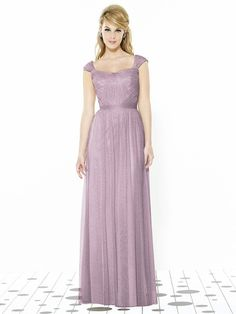 After Six 6724 Bridesmaid Dress in Mauve