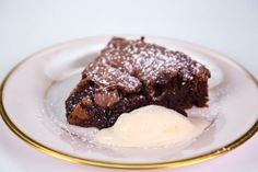 Clinton Kelly's Flourless Chocolate Cake  |  the chew | Recipe