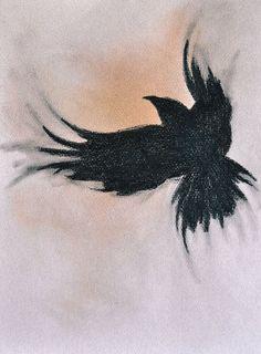 Resultado de imagen para small crow tattoo