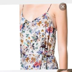 Vestido estampado Zara - Chicfy