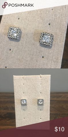 Brighton Sparkle Studs Brighton Sparkle Studs in perfect condition!! Brighton Jewelry Earrings