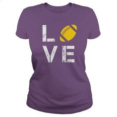 Love Rugby - #teen #online tshirt design. PURCHASE NOW => https://www.sunfrog.com/Sports/Love-Rugby-123596532-Purple-Ladies.html?60505