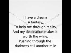 time for a sing-along break. Abba- I Have A Dream Lyrics Dream Song Lyrics, Abba Lyrics, Abba Sos, Allison Krauss, I Have A Dream, My Love, Robin Sharma Quotes, Karaoke Songs, My Favorite Music