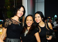 Linda Black, Zurina Bryant and Nina Raz.