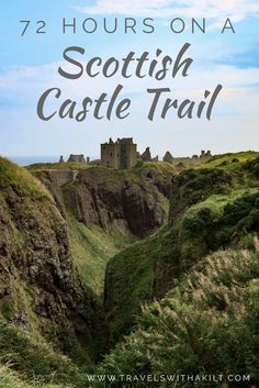 Ever wanted to take a Scottish road trip? Here's a 72 journey from the south west to the north east taking in some of Scotland's most spectacular and romantic ruins! Get Scotland travel tips for your European bucket list itinerary. Scotland Road Trip, Scotland Vacation, Scotland Travel, Ireland Travel, Scotland Tours, Scotland History, Skye Scotland, Scotland Castles, Scottish Castles