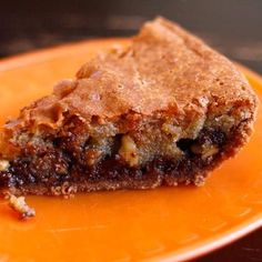 another Chocolate Walnut Pie Pie Recipes, Dessert Recipes, Cooking Recipes, Walnut Pie, Best Pie, No Bake Pies, Holiday Recipes, Holiday Foods, Party Cakes