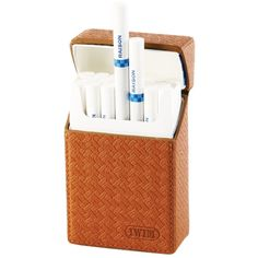 Amazon.com: IWIM Leather Cigarette Case/Box/Holder for Regular King Size Cigarettes: Health & Personal Care