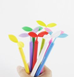 Colorful Sprout Pen $7