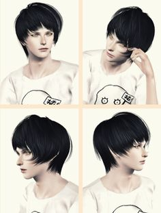 Rose`s 112 converted for male by Maipham for Sims 3 - Sims Hairs - http://simshairs.com/roses-112-converted-male-maipham/