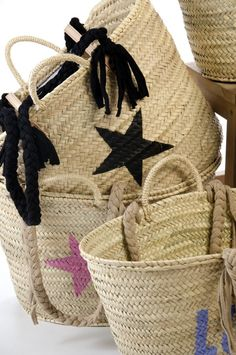Can never have too many baskets Basket Bag, Rattan Basket, Beach Basket, Basket Liners, Straw Bag, Purses And Bags, Creations, Pouch, Reusable Tote Bags
