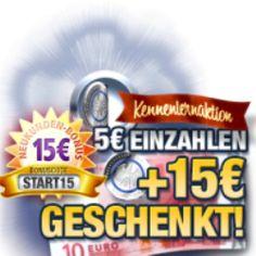 Jetzt registrieren, 5 Euro einzahlen und 15 Euro geschenkt bekommen, das gibt es nur imStake7 Casino!Mit dem exklusiven Neukunden-Bonus (Bonuscode: START15) sichern Sie sich den Extravorteil für Ihre Ersteinzahlung nach Ihrer Registrierung und Sie erhelten für nur 1 Euro