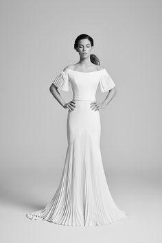 Nouveau | Belle Epoque Bridal Gown Collection 2018 | Wedding Dresses UK by designer Suzanne Neville http://www.suzanneneville.com/bridalgowns/belle-epoque-collection-2018/nouveau-2/