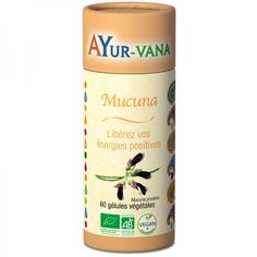 Mucuna (Sérénité) Bio & Vegan AYUR-VANA Origami, Vegan, Vegetable Recipes, Sleep, Effects Of Stress, Origami Paper, Vegans, Origami Art
