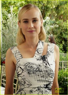 Diane Kruger's CFDA/Vogue Fashion Fund hairstyle