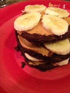 Kitchen Queen Eats Clean: Chocolate Peanut Butter Shakeology Protein Pancakes