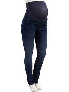 Maternity Full-Panel The Rockstar Super Skinny Jeans size 6