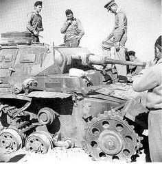 Pz.III Ausf F from Kp.1 of I.Abteilung/Pz.Rgt.8 of 15.Panzer-Division