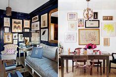 Via www.Honestlywtf.com   http://honestlywtf.com/home/gallery-walls/