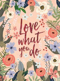 Items similar to Inspirational Quote Wall Art, Office Wall Art, Bedroom Decor, Motivational Quote Prints, Christmas gift by Mia Charro on Etsy Happy Sunday Quotes, Cover Quotes, Dibujos Cute, Wall Art Quotes, Quote Wall, Floral Illustrations, Quote Prints, Word Art, Cute Wallpapers