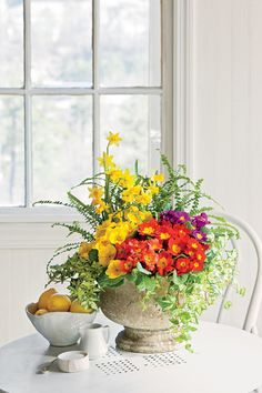 Revisit a Classic   Let the glorious textures and colors of your favorite flora serve as key elements of your home's interior decor with these container gardening ideas. With you could enjoy the outdoors even when you're stuck inside? Bring the earthy greenery, colorful flowers, and intoxicating aromas of your favorite outdoor retreat into your home with an indoor container garden. We're showing you our favorite indoor planter ideas ever, from playful arrangements of unfussy succulents to…