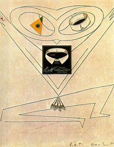 Dancing Owl - Max Ernst