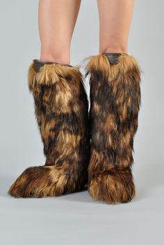 Vintage fur muck luck boots 6.5 70s apris ski boots   Fur, Boots ...
