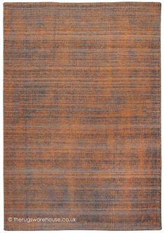 Medanos Orange Rug A Hand Woven Taupe Hued 100 Wool
