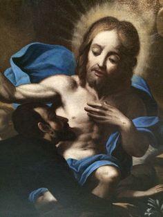 Adorazione di Cristo Olio su tela XVII secolo