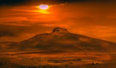 The sunset on the hill by John Wright on 500px