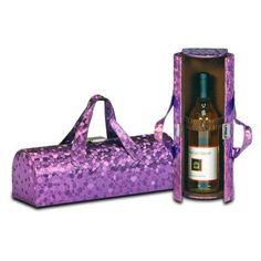 Picnic Plus Carlotta Clutch Wine Bottle Clutch Purple Mosaic - PSM-112PM