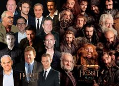 The Hobbit cast photo, in and out of costume. Thats pretty cool! Fellowship Of The Ring, Lord Of The Rings, Lotr Cast, Hobbit An Unexpected Journey, Concerning Hobbits, The Hobbit Movies, Jrr Tolkien, Thranduil, Middle Earth