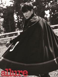 Park Hae Jin Shows His Love For Horses In The October Pages Of Allure Korea | Couch Kimchi