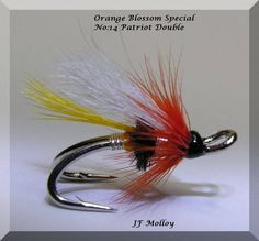 Orange Blossom Special Size 14 Partridge Patriot Double by Jerome Molloy