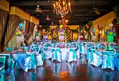 Beautiful candy land theme quinceanera #colorful #candyland For more details check us out on http://www.ldoweddings.com/candyland-quince-at-san-rafael/nggallery/page/2/