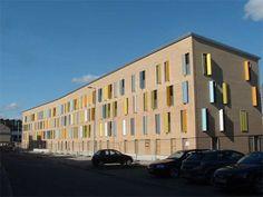 facade, colour