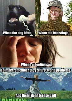 #firstwurldproblems