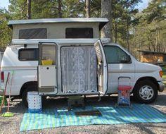 """~ """"screen door"""" for my Sportsmobile campervan ~"""